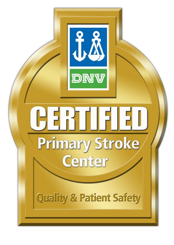 Certified Primary Stroke Center Badge