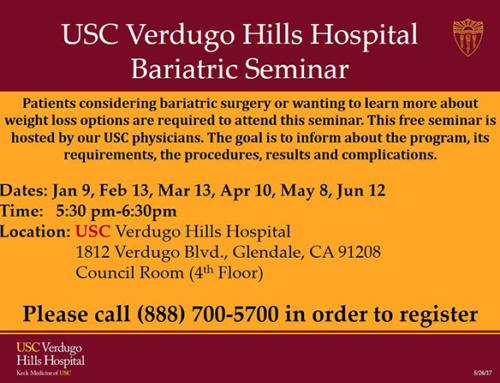 USC Verdugo Hills Hospital Bariatric Seminar