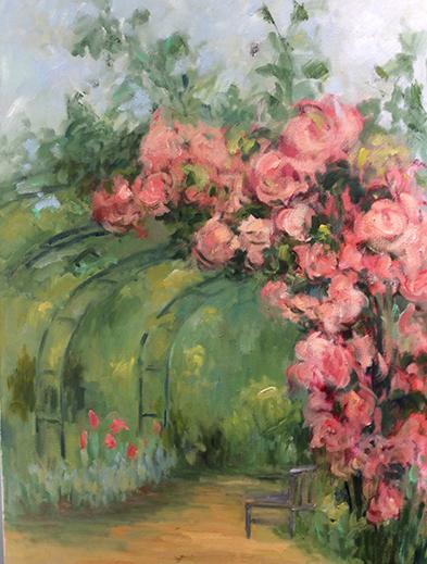 Descanso Gardens by Marijane Hebert