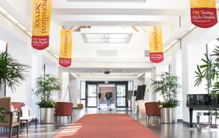 Entrance to USC Verdugo Hills Hospital